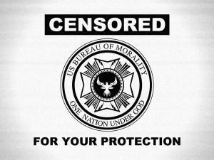 Censorship Sign